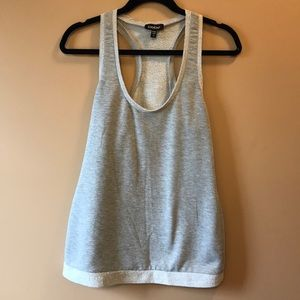 Bebe Sweater Tank Top